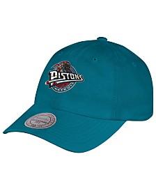 Mitchell & Ness Detroit Pistons Hardwood Classic Basic Slouch Cap