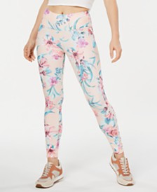 Ideology Flourished Printed Leggings, Created for Macy's