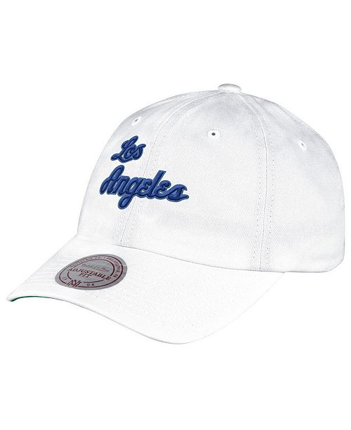 Mitchell & Ness Los Angeles Lakers Hardwood Classic Basic Slouch Cap