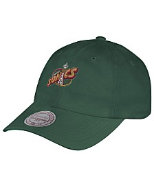 Mitchell & Ness Seattle SuperSonics Hardwood Classic Basic Slouch Cap