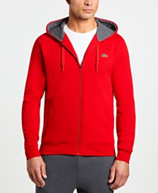 Lacoste Full Zip Hooded Sweatshirt
