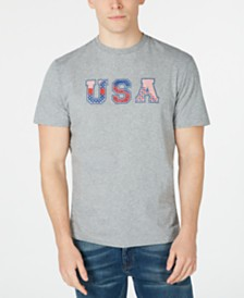 Club Room Men's Graphic T-Shirt, Created for Macy's
