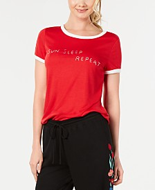 Jenni Ringer Pajama T-Shirt, Created for Macy's