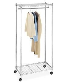 Whitmor Supreme Rolling Garment Rack