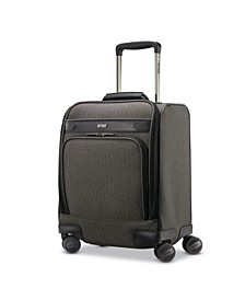 Herringbone DLX Carry-On Under-Seater Spinner Suitcase