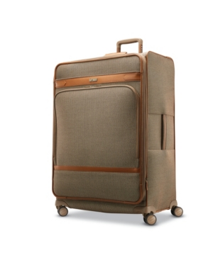 Hartmann Herringbone Dlx Extended Journey Expandable Spinner Suitcase