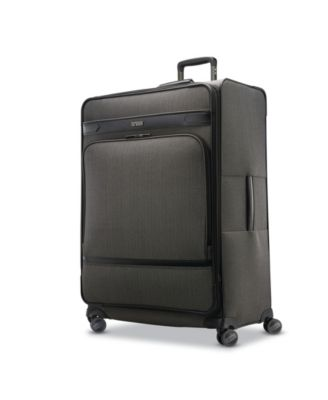 Herringbone DLX Extended Journey Expandable Spinner Suitcase
