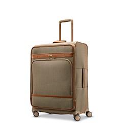 Herringbone DLX Medium Journey Expandable Spinner Suitcase