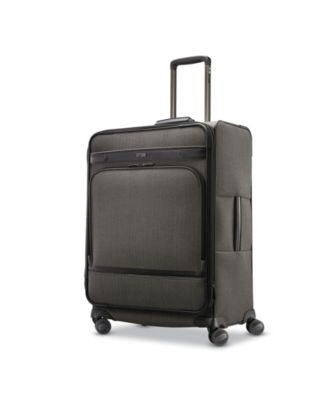 Herringbone DLX Medium Journey Expandable Spinner Suitcase