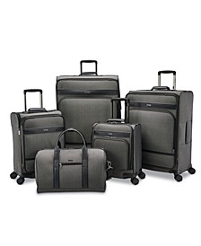 Herringbone DLX Luggage Collection