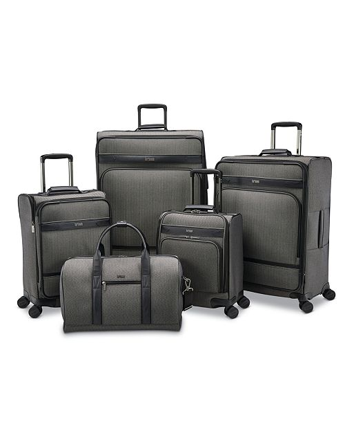 Hartmann Herringbone DLX Luggage Collection