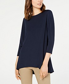 Petite Solid Swing Top, Created for Macy's