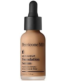 No Makeup Foundation Serum Broad Spectrum SPF 20, 1-oz.