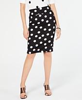 682cc8d8c1 I.N.C. Printed Scuba Pencil Skirt, Created for Macy's