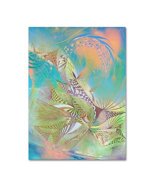 "Trademark Global MusicDreamerArt 'Pastel Warrior' Canvas Art - 24"" x 18"" x 2"""