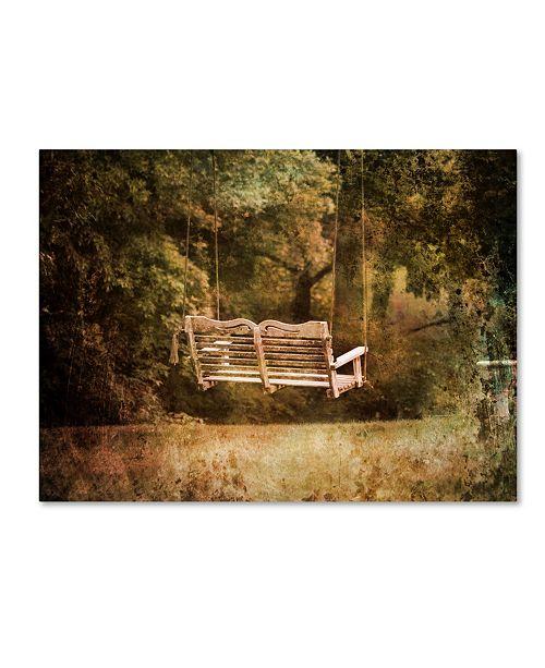 "Trademark Global Jai Johnson 'The Swing' Canvas Art - 19"" x 14"" x 2"""