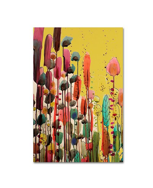 """Trademark Global Sylvie Demers 'If Spring Is There' Canvas Art - 47"""" x 30"""" x 2"""""""