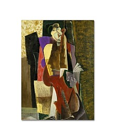 "Max Weber 'The Cellist' Canvas Art - 47"" x 35"" x 2"""