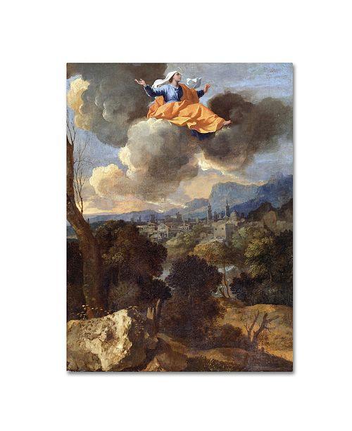 "Trademark Global Nicolas Poussin 'The Translation Of Saint Rita Of Cascia' Canvas Art - 24"" x 18"" x 2"""