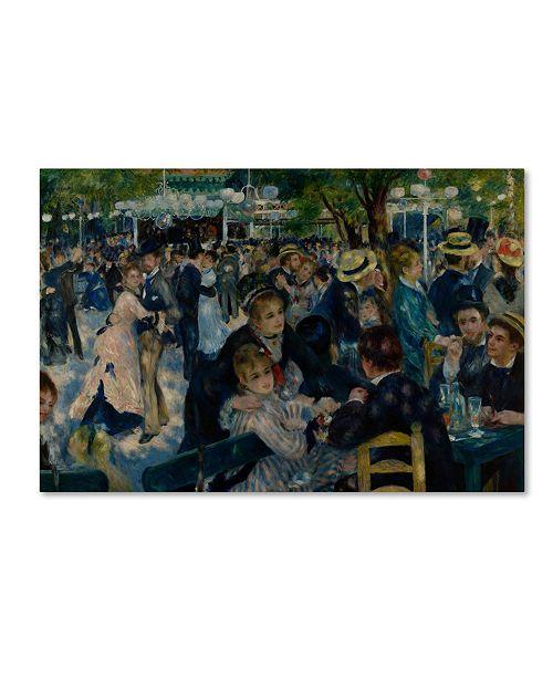 "Trademark Global Pierre-Auguste Renoir 'Le Moulin de la Galette' Canvas Art - 32"" x 22"" x 2"""
