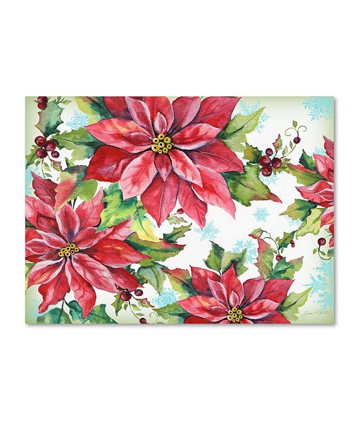 """Trademark Global Jean Plout 'Holiday Celebration 1' Canvas Art - 47"""" x 35"""" x 2"""""""
