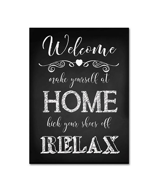 "Trademark Global Jean Plout 'Welcome Home 2' Canvas Art - 47"" x 35"" x 2"""