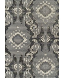 "D Style Weekend Wkd7 Pewter 5'1"" x 7' Area Rug"