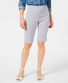 Striped Pull-On Shorts, Created for Macy's