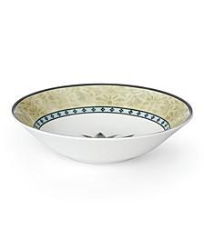 Global Tapestry Aquamarine Lotus Pasta Bowl