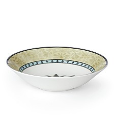 Lenox Global Tapestry Aquamarine Lotus Pasta Bowl