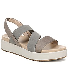 Holla Slingback Platform Sandals