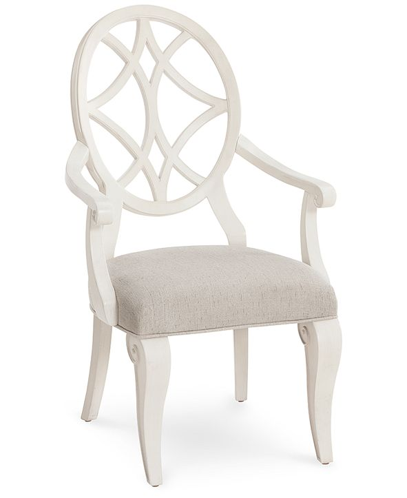 Furniture Trisha Yearwood Jasper County Dogwood Arm Chair