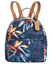 481c96bcf14f Tommy Hilfiger Julia Hawaiian Print Dome Backpack
