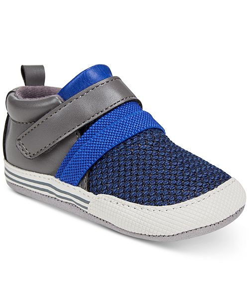 Robeez ro + me by Baby Boys Jake Athletic Sneakers