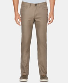 Perry Ellis Men's Slim-Fit Tech Pants