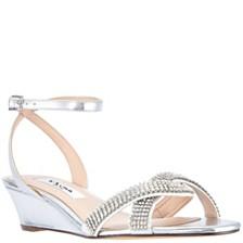 Nina Florina Wedge Sandals
