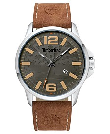 Timberland Men's Bernardston Brown/Silver/Gray Watch