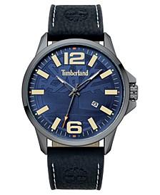 Men's Bernardston Black/Gunmetal/Blue Watch
