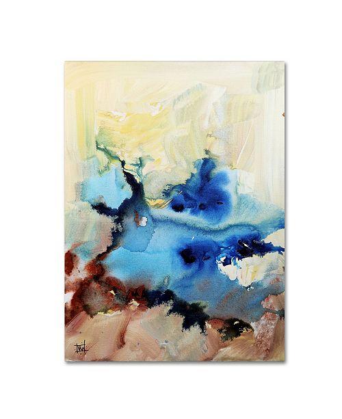 """Trademark Global Natasha Wescoat 'Emphatic' Canvas Art - 47"""" x 35"""" x 2"""""""