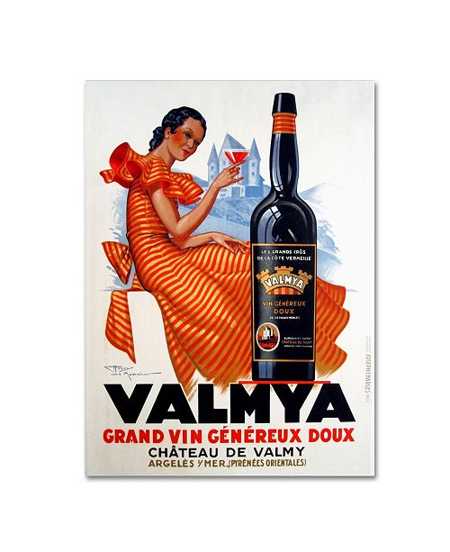 "Trademark Global Vintage Apple Collection 'Valmya' Canvas Art - 47"" x 35"" x 2"""
