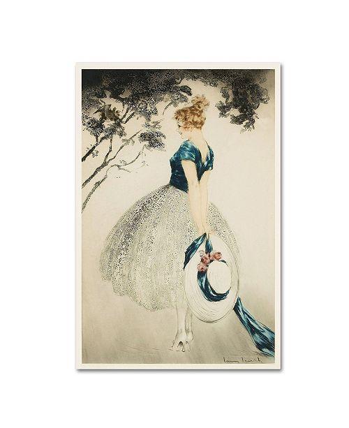 "Trademark Global Vintage Lavoie 'Ad 37' Canvas Art - 47"" x 30"" x 2"""