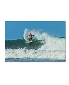 """Robert Harding Picture Library 'Surfing 5' Canvas Art - 32"""" x 22"""" x 2"""""""