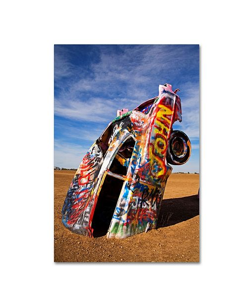 """Trademark Global Robert Harding Picture Library 'Painted Cars' Canvas Art - 19"""" x 12"""" x 2"""""""