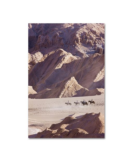 "Trademark Global Robert Harding Picture Library 'Horseback' Canvas Art - 32"" x 22"" x 2"""