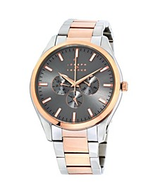 Men's Analog Two-Tone Stainless Steel Bracelet Watch 28mm