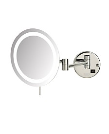 The Sharper Image JRT718CL LED Lighted Wall Mount Mirror