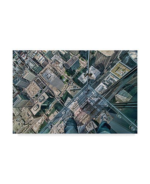 "Trademark Global Jeff Lewis 'Leap Of Faith' Canvas Art - 47"" x 2"" x 30"""