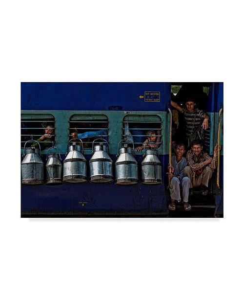 "Trademark Global Prateek Dubey 'Cans Hanging' Canvas Art - 19"" x 2"" x 12"""