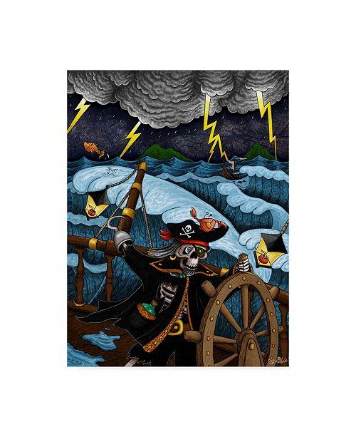 "Trademark Global Jake Hose 'Pirate Black Coats Revenge' Canvas Art - 24"" x 18"" x 2"""