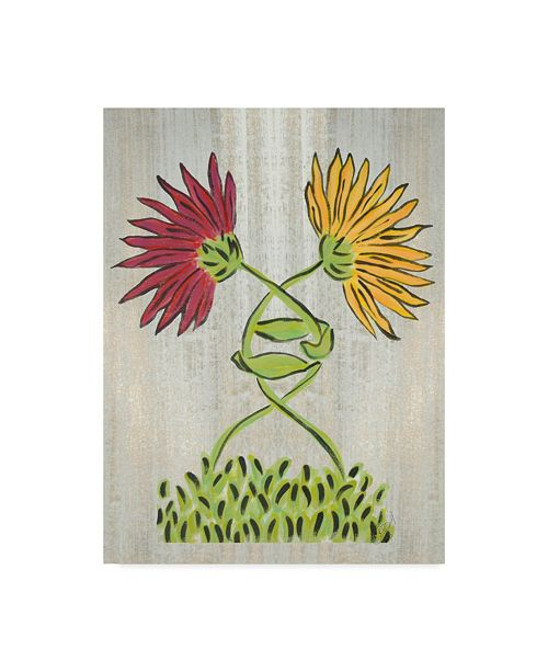 "Trademark Global Jessmessin 'Tangled' Canvas Art - 24"" x 18"" x 2"""